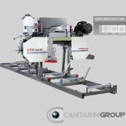 Segatronchi orizzontale manuale CTR 710 M