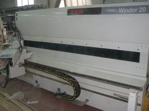 impianti per infissi scm windor 20 l
