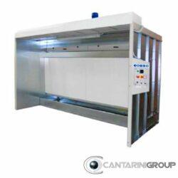 Cabina ad acqua Monovelo serie CAM