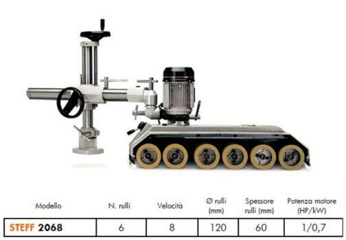 trascinatori e avanzamenti automatici steff 2068