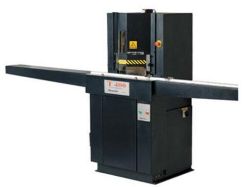 troncatrici t400 con bloccaggio verticale multiplo