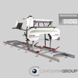 Segatronchi orizzontale manuale CTR 750