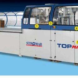 Automatic working centre for block house Stromab topmaster