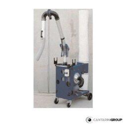 Aspiratore mobile centrifugo con braccio aspirante serie AD 8/800