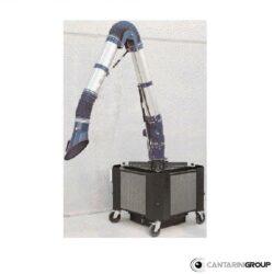 Aspiratore mobile con braccio da 3 metri serie ABC