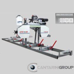 Segatronchi orizzontale manuale CTR 710 GX