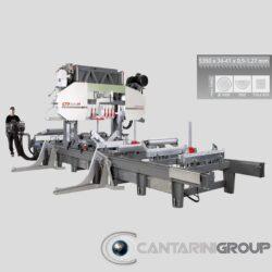 Segatronchi orizzontale idraulica CTR 1000 H40 LX