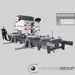 Segatronchi orizzontale idraulica CTR 1300 H