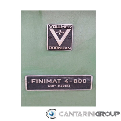 Vollmer Finimat 4-800 affilatrice