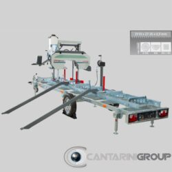 Segatronchi orizzontale mobile CTR 550 E