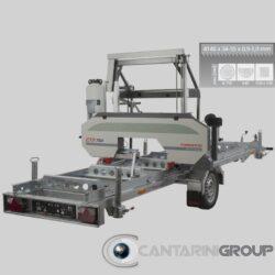 Segatronchi orizzontale mobile CTR 750 E