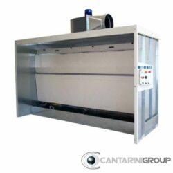 Cabina ad acqua doppiovelo serie CAD