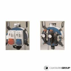 Dispositivi elettro pneumatici sospesi per serie BRA e M2