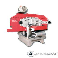 Sega a nastro orizzontali con testa inclinabile 0°-15° per taglio di lamelle sottili RE-MAX 500 CNCI