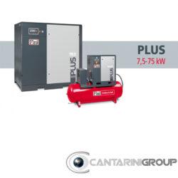 Compressori rotativi a vite FINI PLUS: DA 7,5 A 75 KW