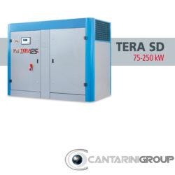 Compressori rotativi a vite FINI TERA SD: DA 75 A 250 KW
