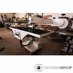 Levigatrice a nastro 2600 x 800 mm stagni brevetti SEMIAUTOMATICA USATO