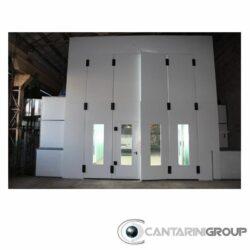 impianto di verniciatura presurizzato altezza interna da 4200mm a caldo